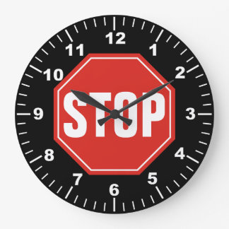 STOP Sign Clocks