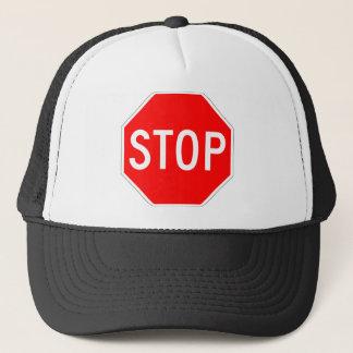 Stop Sign Customizable Trucker Hat