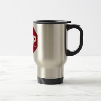 STOP SIGN FNP - Family Nurse Practitioner Stainless Steel Travel Mug