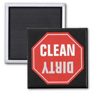 STOP Sign Square Magnet