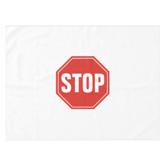 STOP Sign Tablecloth