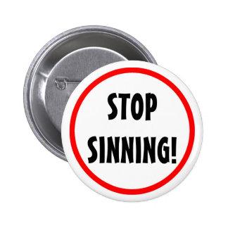 """""""Stop Sinning"""" Button"""