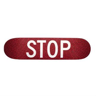 Stop Skateboard