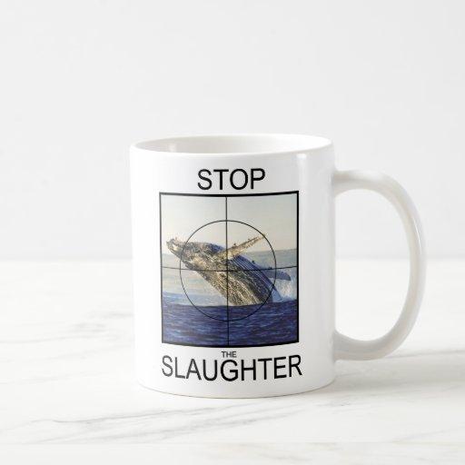 Stop Slaughter-whales Coffee Mug
