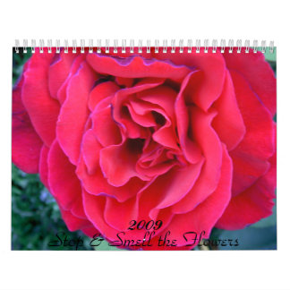 Stop & Smell the Flowers... - Customized Wall Calendars