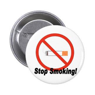 Stop Smoking Button