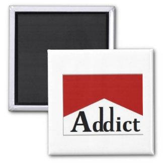 stop smoking square magnet