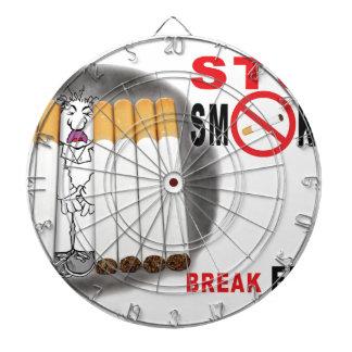 Stop Smoking Reminders - No More Butts Dartboard With Darts