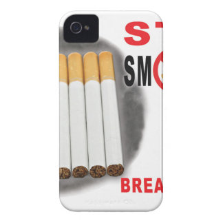 Stop Smoking Reminders - No More Butts iPhone 4 Case