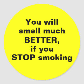 STOP smoking - Sticker