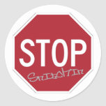 Stop Snitchin Stickers