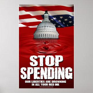Stop Spending (24x36) Posters