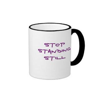 Stop Standing Still Ringer Mug