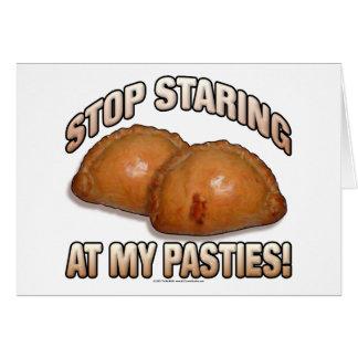 Stop Staring at my Pasties Card