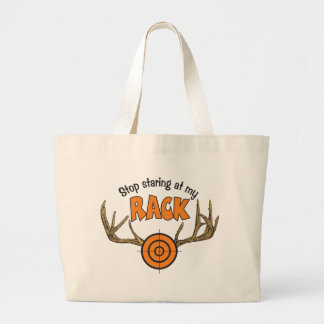 Stop Staring At My Rack Canvas Bags