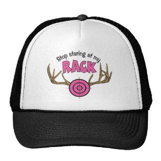 Stop Staring At My Rack Mesh Hats