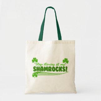 Stop Staring at my Shamrocks Bags