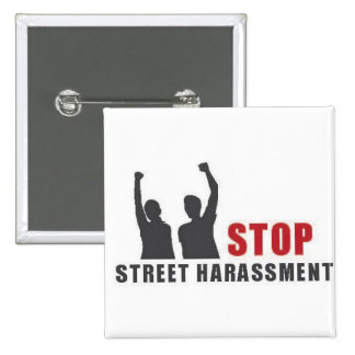 Stop Street Harassment People Button