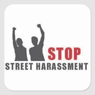 Stop Street Harassment People Stickers - large