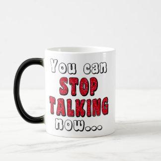 Stop Talking Bar | Mean Girl Insult Quote Humor Magic Mug