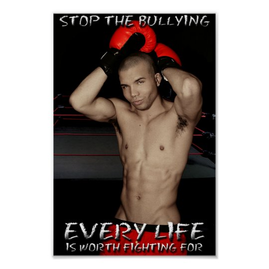 Stop The Bullying Poster