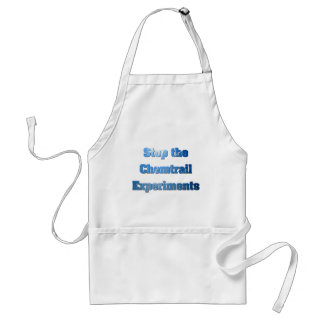 Stop the Chemtrail Experiments Standard Apron