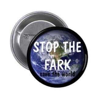 STOP THE FARK button (design 1)