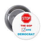 STOP THE GOP - BUTTON