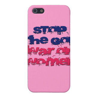 Stop the GOP War on Women iPhone 5 Covers