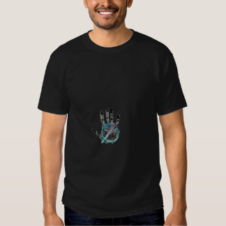 stop the human hand tshirt