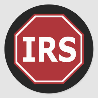 Stop the IRS Sticker