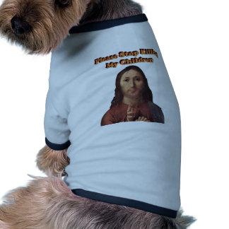 Stop the Killing Pet Shirt