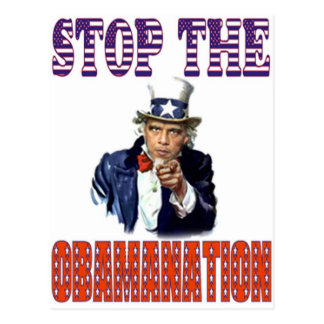 Stop the Obamanation T-shirt Postcard
