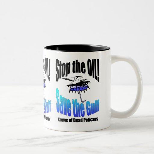 Stop the Oil!/ Save the Gulf Coffee Mug
