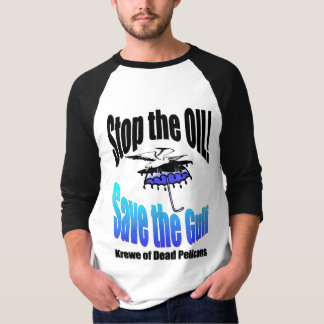 Stop the Oil Save the Gulf Dead Pelicans Tee Shirts