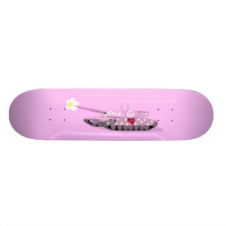 Stop the Pew Pew Skate Board Decks