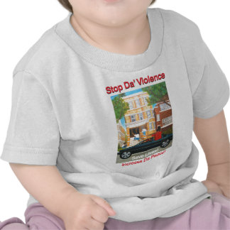 stop the violence anti-gang save the children shirt