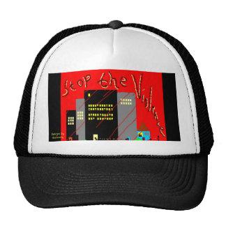 Stop The Violence Cap Trucker Hat