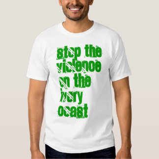 Stop The Violence On The Ivory Coast Tshirt