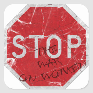 Stop the War on Women Stickers