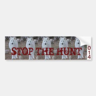 STOP the Wolf Hunt Bumper Sticker
