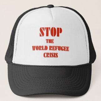 Stop the World Refugee Crisis Trucker Hat