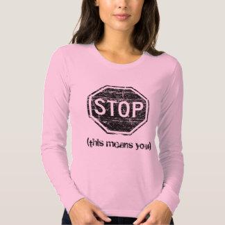 STOP Top Tshirt