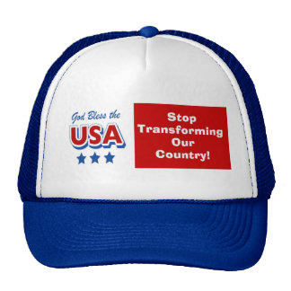 stop transforming our country mesh hat