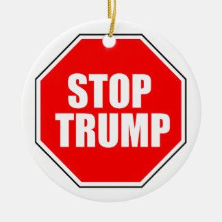 """""""STOP TRUMP"""" ORNAMENT"""