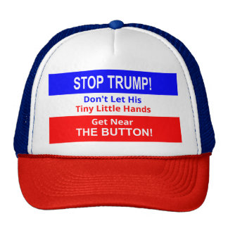 Stop TRUMP's Tiny Little Hands Trucker Hat