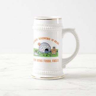 Stop Using Fossil Fuels Coffee Mug