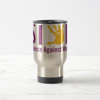 Stop Violence against Women Stainless Steel Travel Mug