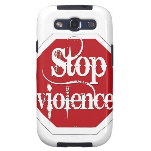 Stop Violence Galaxy S3 Covers