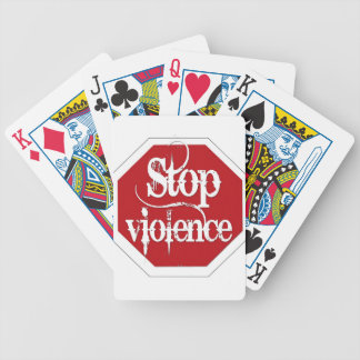 Stop Violence Deck Of Cards